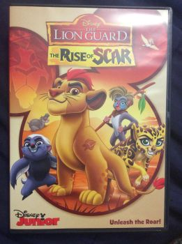 My rise of scar DVD by aliciamartin851