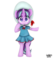 young starlight glimmer uniform by Leslers