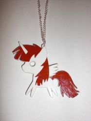 Fausticorn Paper Pendant by Bunnygirl2190