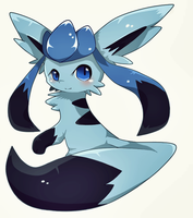 Happy birthday brother :3 (New style to glaceon) by TrickU