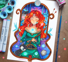 +Merida - Midsummer Night's Dream+ by larienne