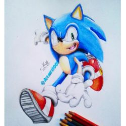sonic colors pose redraw! by AceArtz1001