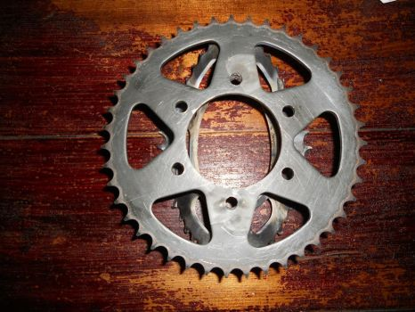 Motorcycle Trivet Pic 3 by davesbikeartstuff