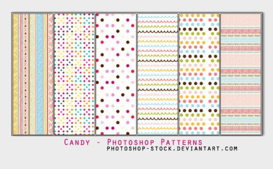 Candy - Photoshop Patterns by photoshop-stock