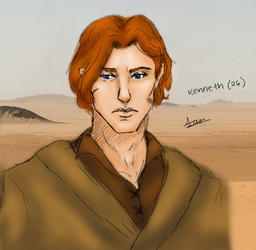 SWRPG: Kenneth Williams - Young (Color) by SuperAiko