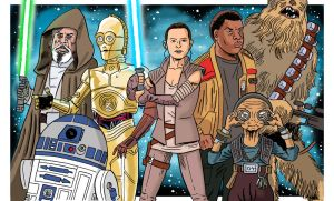 Star Wars 8 by jkipper