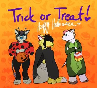 Trick or Treat! by elusiveExtrovert