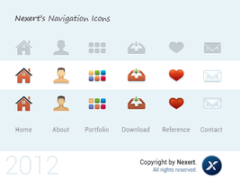 Nexert's Navigation Icons by Nexert