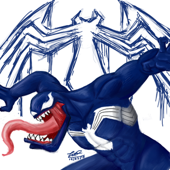 Venom by a mexican c: by MAXicano