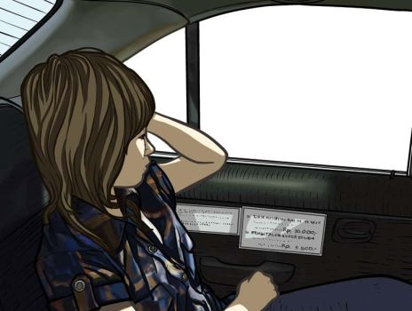 inside the taxi cab by dira1988