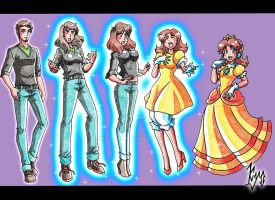 TG - from guy to Princess Daisy by kyo-dom