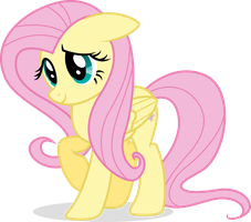 Fluttershy Just Being Cute by illumnious