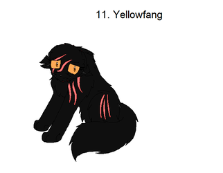 11.Yellowfang by Legend-series