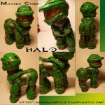 Master Chief From Halo by AnimeAmy
