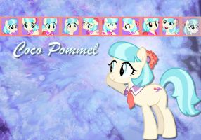 Coco Pommel Wallpaper by phasingirl
