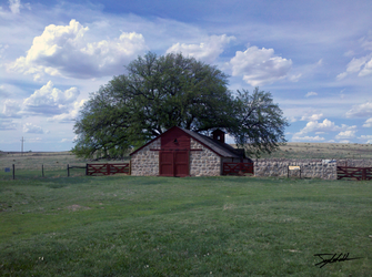 Cottonwood Ranch Barn by WhenPigsFry