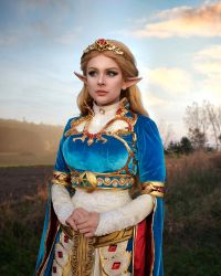 Princess Zelda - Breath of the Wild 2 by HannahEva