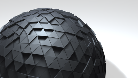 Abstract Sphere 2 by Lowlandet