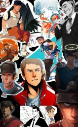 Scout Collage by ThatWeirdHetalian