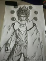 8th hokage Vegito by HaiKaiser12