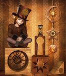The Li'l Timekeeper by RavenMoonDesigns