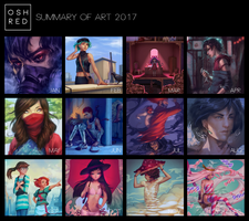Summary of Art 2017 by oshRED
