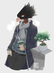 |FA| birb boy by cherriielle
