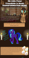 Mlp Tranformation Meme by EmpatheticMortalAnge