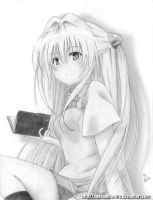 Commision 1: Yami - To Love Ru by MikePaulWhite