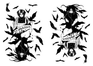 Crows by Nazelis