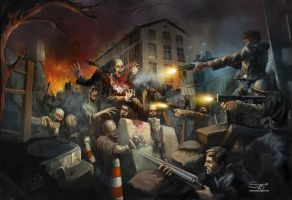 Zombie attack by serjio-c