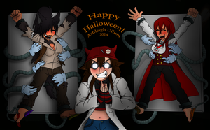 Halloween! 2014 by LycanthropAsh