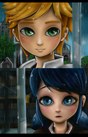 Miraculous - In the Rain by Darkledge