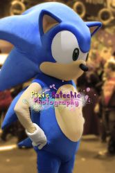 Sonic Cosplay, MCM Expo October 2013 by Pixie-Aztechia