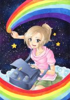 Color the wor... eh, space! by Takuichi