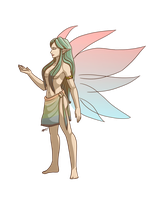 Zelda Collab: Great Fairy by Anilede