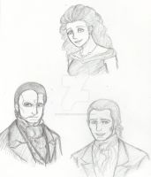 The Phantom Characters by DanaNicole96