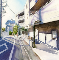 A street in Japan by Cath-Ion