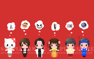 APH - card sticker set 7 by exwhy