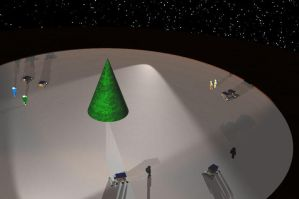 Martian Ice Rink by dhorlick