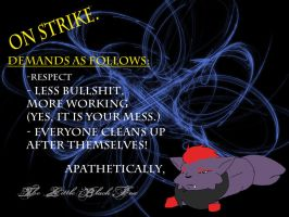 Lil Black Fox... on Strike by Night-Shadow405