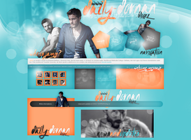 Layout ft. Jamie Dornan by PixxLussy