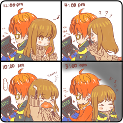 707 x MC (Seven notice me?) by alienitynera