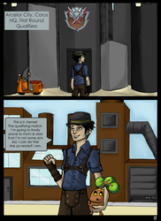 6XL Round One - Fighting while Flushed - P2 by evafortuna