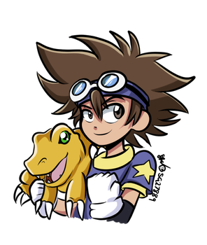 Suggestion 8: Tai and Agumon by SG27889