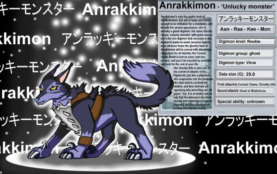 Anrakkimon by Farumir