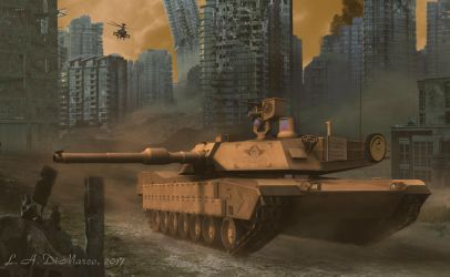 Future War by ADiMarco