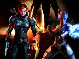 The Reapers Are Coming, Shepard by suicidebyinsecticide