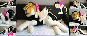 Life size Songbird Serenade plush by agatrix