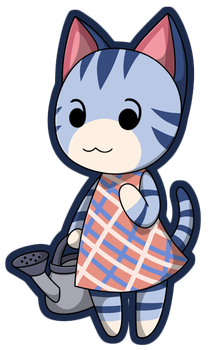 Animal Crossing - Lolly Sticker by Sparkle-And-Sunshine